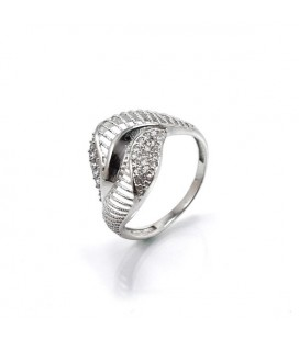 CZ kristályos, elegáns gyűrű 925 ezüstből