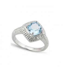 925 ezüstből készült, opál köves gyűrű
