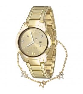 ESPRIT női karóra + karkötő szett ES108082002 Arany