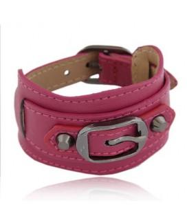 Egyedi pink karkötő