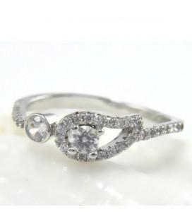 ékszer webshop Ezüst angyalszárny gyűrű