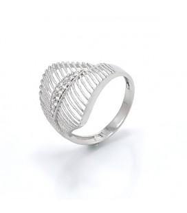 Elegáns, CZ köves gyűrű 925 ezüstből