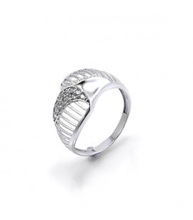 CZ köves, elegáns gyűrű 925 ezüstből