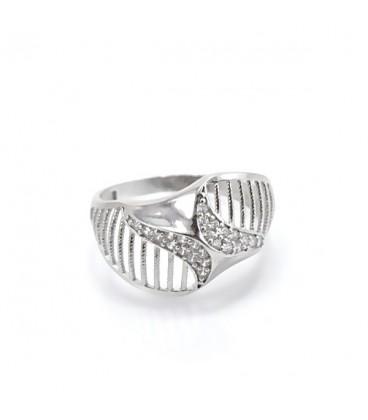 ékszer webshop CZ köves, elegáns gyűrű 925 ezüstből