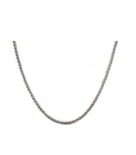 Uniszex nemesacél nyaklánc 3 mm (50 cm)