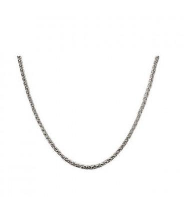 ékszer webshop Uniszex nemesacél nyaklánc 3 mm (50 cm)