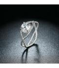 ékszer webshop Kristályszem, 925 sterling ezüst gyűrű