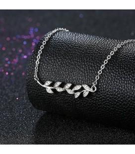 ékszer webshop 925 sterling ezüst, kristályos levelek