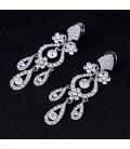 ékszer webshop Luxus menyasszonyi fülbevaló