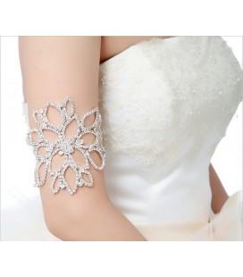 Kristályvirág, többfunkciós esküvői karkötő