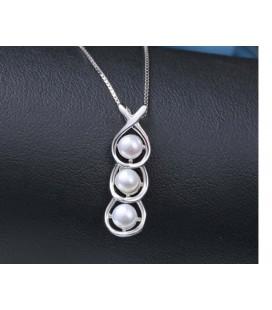 ékszer webshop 3 gyöngyös, elegáns ezüst medál