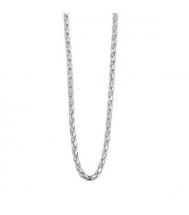 Vékony nemesacél nyaklánc (60+5 cm x 1 mm)
