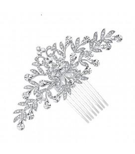 Kristályvirág, exkluzív menyasszonyi hajfésű