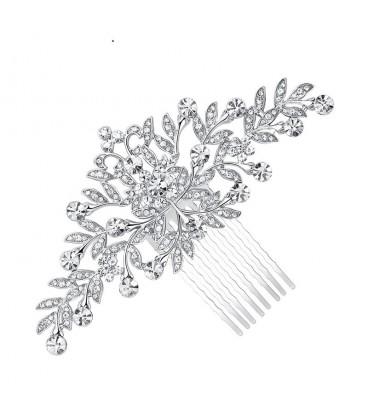 ékszer webshop Kristályvirág, exkluzív menyasszonyi hajfésű