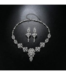 2 részes, luxus menyasszonyi ékszerszett
