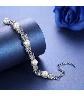 ékszer webshop Exkluzív, gyöngyös esküvői ékszerszett