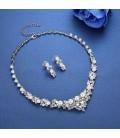 ékszer webshop Gyöngyös kristályfüzér menyasszonyi ékszerszett