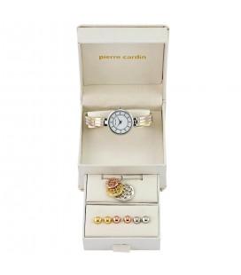 Pierre Cardin trikolor óra és ékszer szett női karóra PCX5112L218B