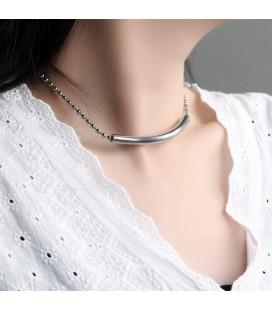 ékszer webshop Titánium choker nyaklánc medállal