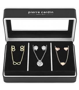 Pierre Cardin 3 részes, fülbevaló+nyaklánc ékszerszett