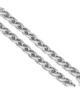 Fonott nemesacél nyaklánc (70cmx3mm)