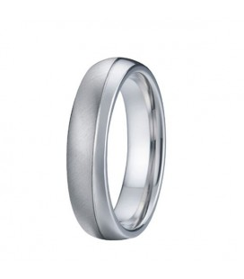 Prémium nemesacél férfi karikagyűrű