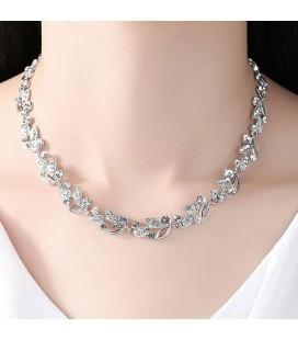 Harmatcsepp, kristályos esküvői nyaklánc