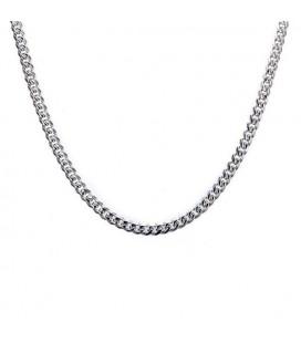 Sűrű láncszemes nemesacél nyaklánc (60 cm - 3,5 mm)
