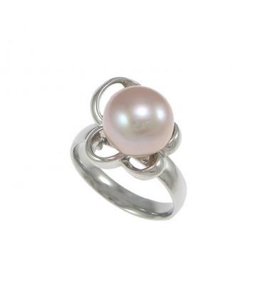 ékszer webshop Nemesacél gyűrű gyöngy díszítéssel