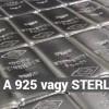 Mi az a Sterling ezüst vagy 925 ezüst?