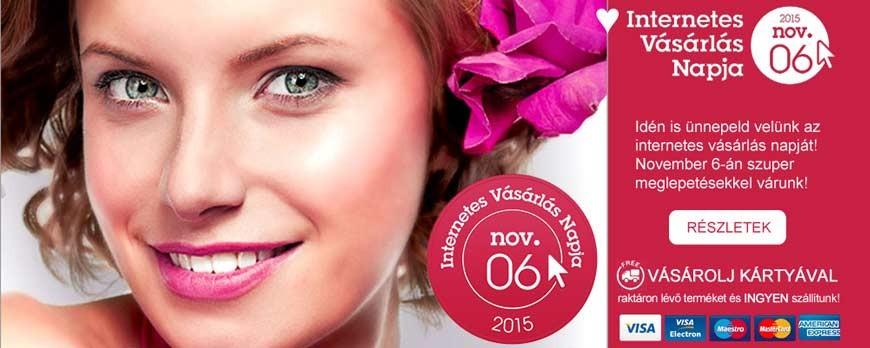 DotcommerceDay - november 6. - az Internetes Vásárlás Napja