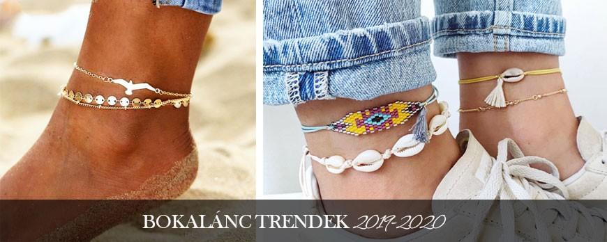 Bokalánc trend 2019-2020